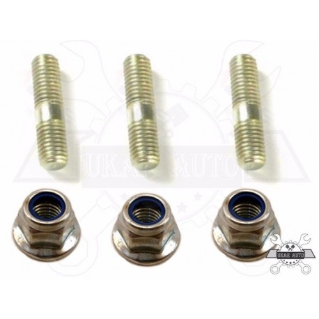 Buy Set of 3 stud 25mm M10 & nut flanged Range Rover Discovery / Defender TE110051L