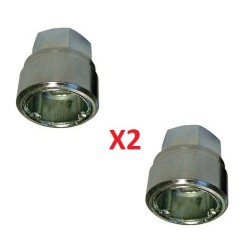"2x Land Rover Freelander 1 - locking wheel nut key code ""G"" KBM100510"