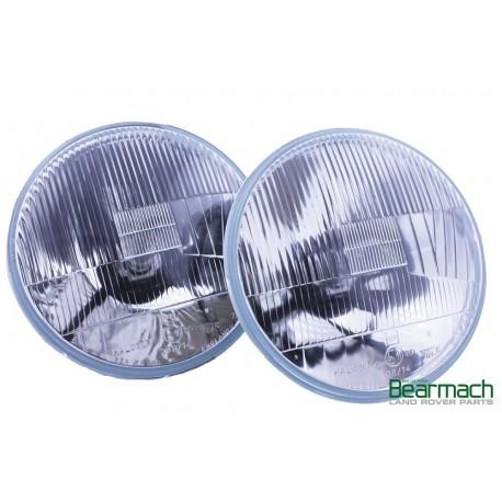 "7"" LHD Halogen Headlamp H4 Conversion Kit Part BA070A"