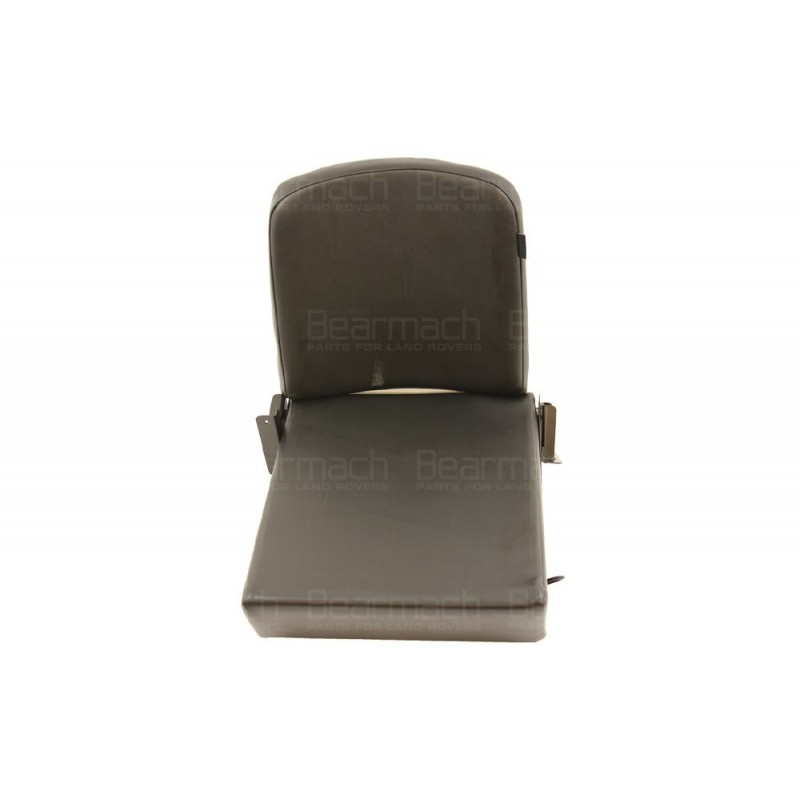 Seat Rear Fold Up Vinyl Black Part BA2093