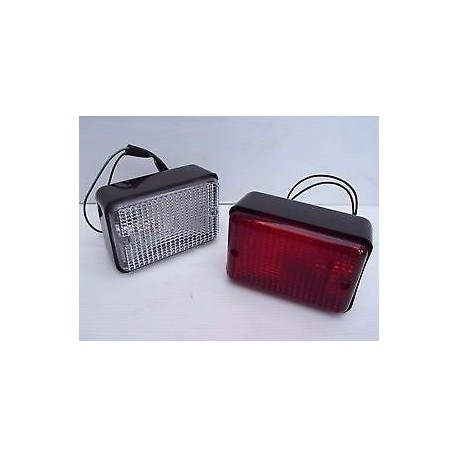 Buy Land Rover Defender 90 / 110 / 130 / Series 2,3 1980-2002 rear rectangular fog light PRC7254
