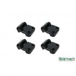 Black Door Hinge Kit 8pc Part BA9127