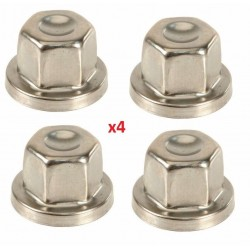 Buy Land Rover Defender / Discovery 1,2 /Range Rover Classic / P38 4x locking wheel nut cover RRJ100120