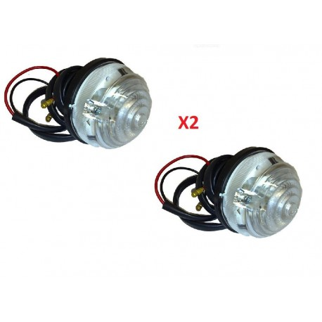 Buy Land Rover Series 1 / 2 / 2A / 3 /Defender 90/110 - set of two front side light lamp part RTC5012