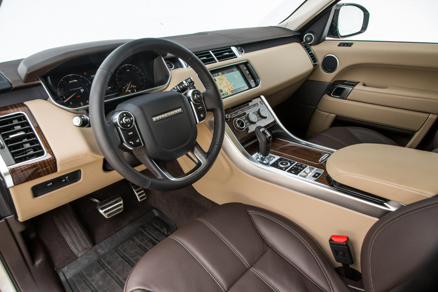 Range Rover Sport Supercharged interior