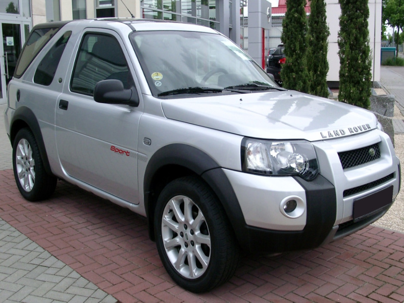 Freelander 3 doors SUV