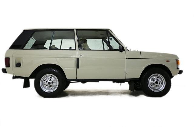 Land Rover Classic 2 doors