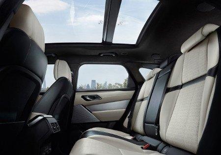 Range Rover Velar back seats